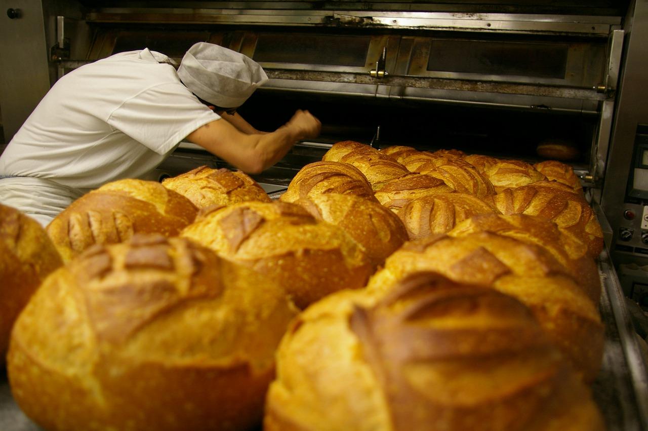 Odpowiednia aranżacja piekarni